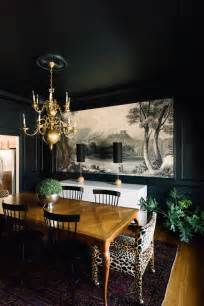 Black Painted Walls Paint It Black 15 Bold And Beautiful Dark Walls Design