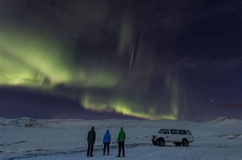reykjavik iceland northern lights reykjavik northern lights tour in a jeep iceland
