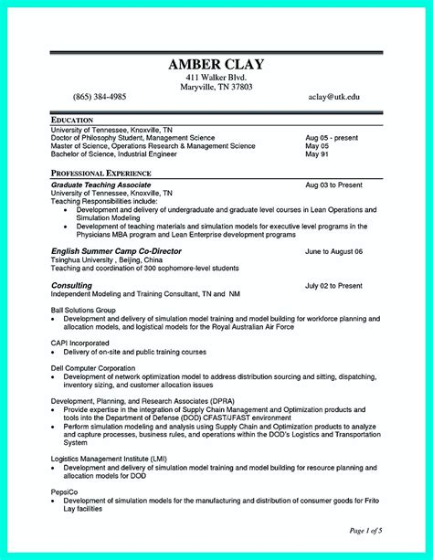 Construction Manager Resume by Simple Construction Superintendent Resume Exle To Get