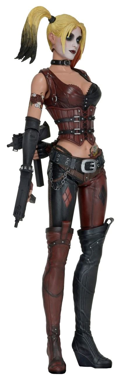 figure harley quinn batman arkham city 1 4 scale figure harley quinn