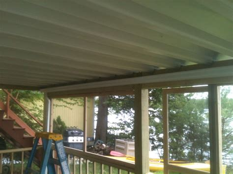Diy Deck Drainage System by Deck Drainage System Lowes Ceiling Systems Modern