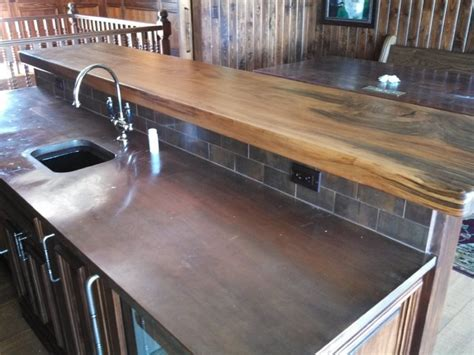 rustic traditional kitchen countertops other metro by kim wood designs