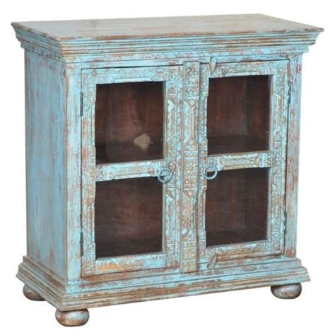 oklahoma farmhouse mango wood distressed 41 kitchen 12 best images about display cabinets on pinterest