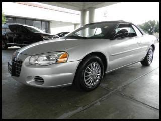 how to learn about cars 2004 chrysler sebring head up display purchase used 2004 chrysler sebring 2004 convertible lx in stafford texas united states for