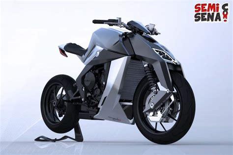 Revektor Depan Depan Motor otomotif masa depan konsep motor masa depan yang gahar