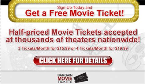 printable movie tickets coupons printable free movie tickets