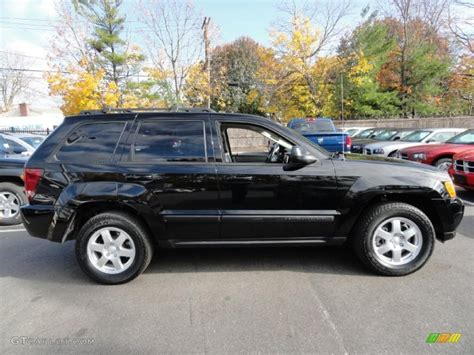 jeep cherokee black with black black 2008 jeep grand cherokee laredo 4x4 exterior photo