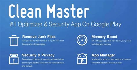 clean master app for android clean master app for android security antivirus apps