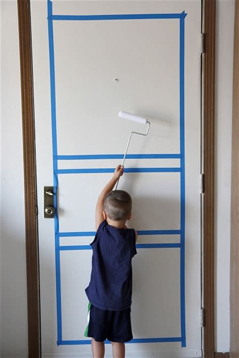 How To Paint A Door With A Roller by House Tweaking