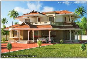 2 floor houses beautiful kerala style 2 storey house 2328 sq ft plan 123 acube builders developers