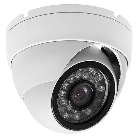 Cctv Indoor Surveillance Indoor Outdoor Security Dome 700tvl 3 6mm White 24ir Cctv