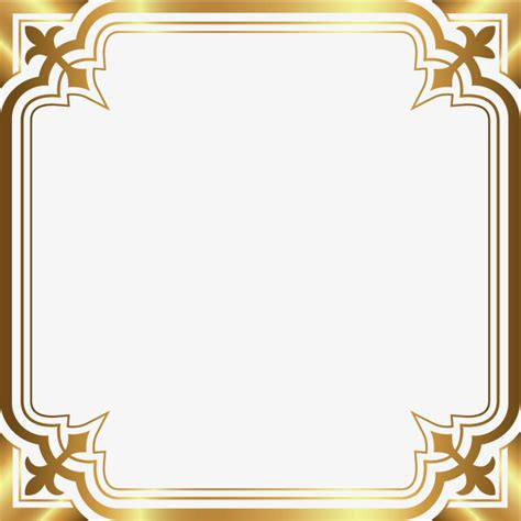 Cool Technology by Luxury Gold Border Luxurious Decorative Pattern Fillet