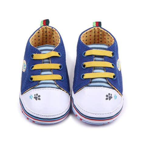 Crib Sneakers Baby Toddler Baby Boy Soft Sole Crib Shoes Sneakers Canvas Walking Shoes Ebay