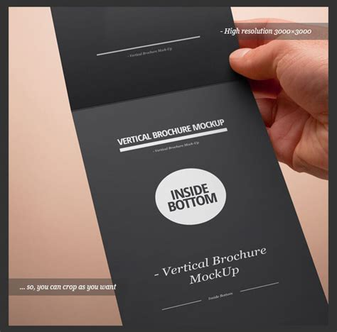 Vertical Fold Card Template by 14 Vertical Brochure Design Psd Images Vertical Fold