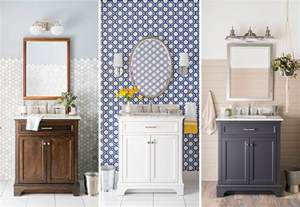 powder room design options with different vanity cabinets and upgrade bathroom budget don neglect needed