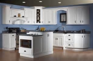Blue Kitchen White Cabinets by Dover White Shaker Kitchen Cabinets Yelp