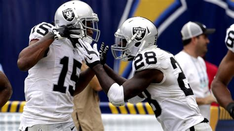 chargers raiders raiders come out of the bye week on before dousing