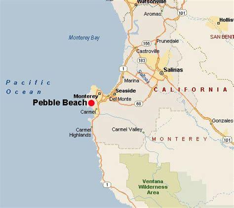pebble california map mike tyson tattoos california beaches map