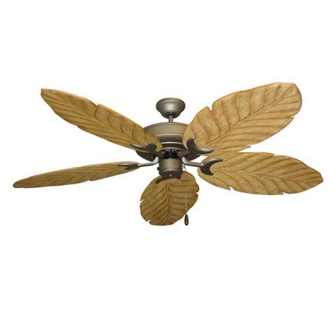 wood blade ceiling fan raindance antique bronze 100 series ceiling fan real