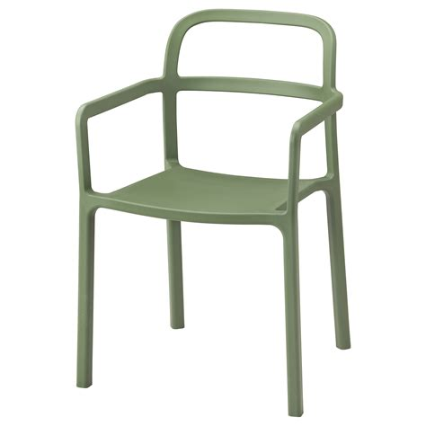 outdoor stools ikea ypperlig chair with armrests in outdoor green ikea
