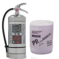 Kitchen Extinguisher Canada by Security Ansul K Guard Systems