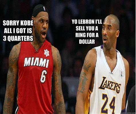 Lebron Kobe Jordan Meme - kobe and lebron memes