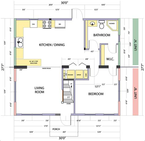 layout of house floor plans and site plans design