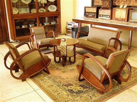 Kursi Rotan Kuno toko barang antik dijual kursi kuno model becak jok