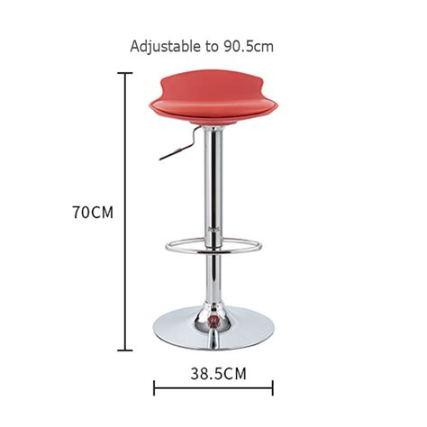 2 Seater Bar Stool by Chicago Adjustable Pu Seater Barstool Black