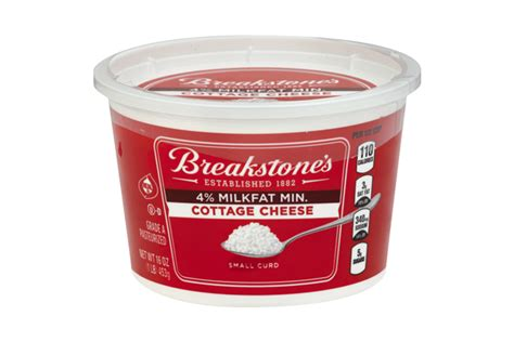 breakstone s small curd 4 milkfat min cottage cheese 16