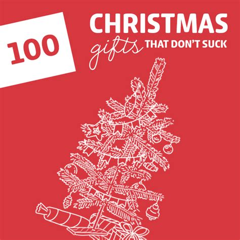 100 cool christmas gifts that don t suck the holy grail