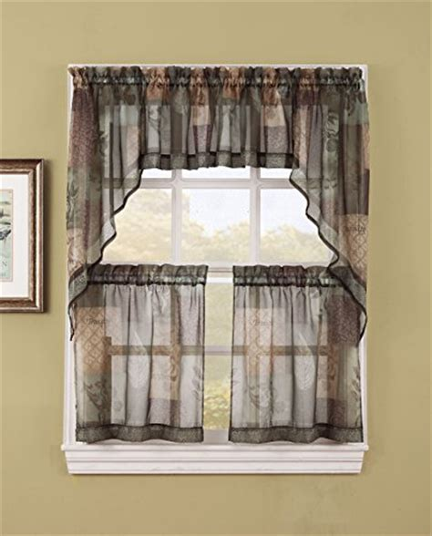 Pear Kitchen Curtains Inspiration S Lichtenberg Co Inc 36715 No 918 Inspirational Theme Kitchen Curtain Swag Pair 56 Quot X