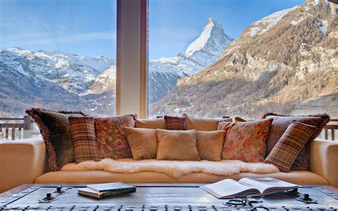 Cabin Style Homes by Luxury Ski Chalet Chalet Grace Zermatt Switzerland