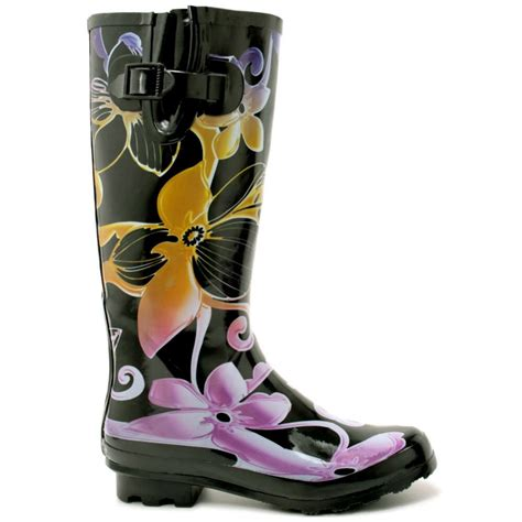 womens orchid wellies wellington boots from buy uk