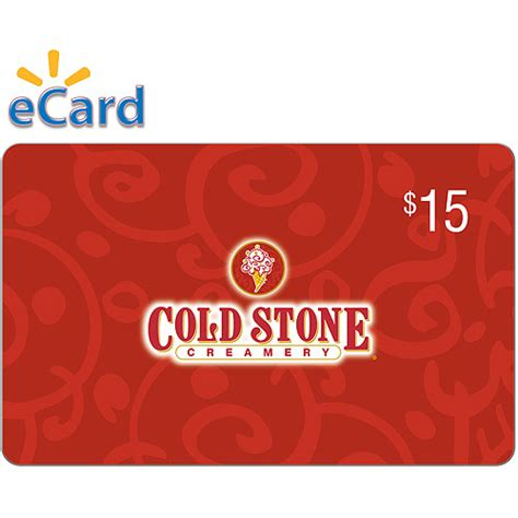 cold stone creamery 15 email delivery walmart com - Cold Stone Gift Card Walmart