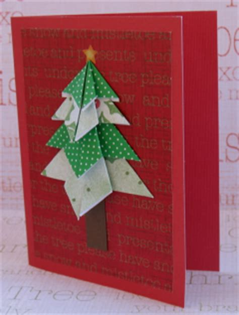 Origami Tree Card - origami tree cards thrifty glamumous