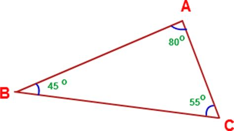 Interior Triangle Angles by Interior Angles Exles Of Interior Angles