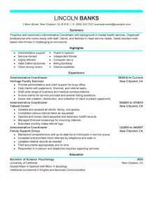 admissions representative resume
