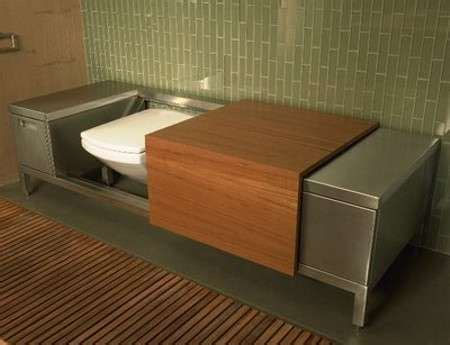 bench toilet troy adams luxury loo