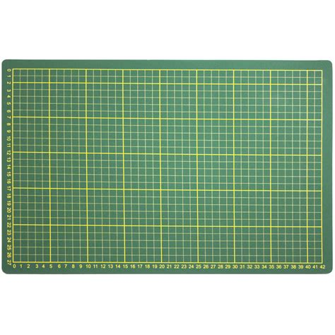 Large Cutting Mat by Craft Hobby 18 Quot X 12 Quot Large Self Healing Sided