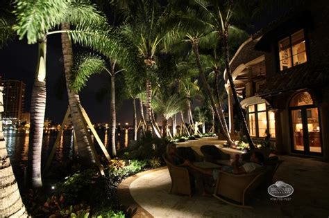 Tropical Outdoor Lighting Outdoor Lighting Tropical Landscape Miami By Broward Landscape Inc