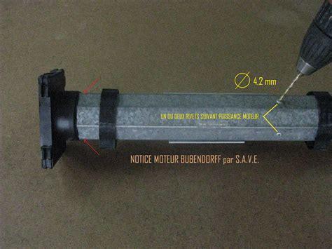 Comment Demonter Un Volet Roulant Electrique 4647 by Notice D 233 Montage Moteur Id Bubendorff Save Fournisseur