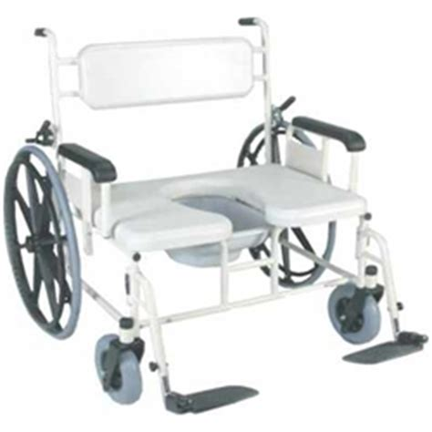 rolling shower transport chair 750 lbs bariatric rolling shower commode chair