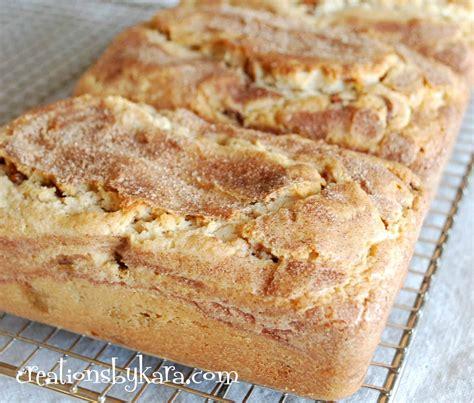 food doodle bread snickerdoodle bread