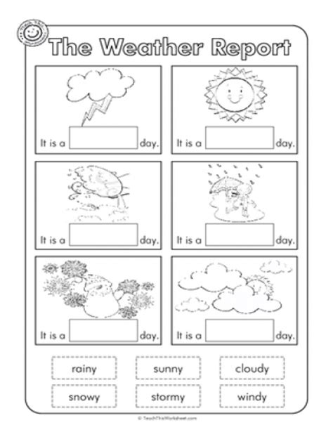 weather patterns worksheet pdf weather worksheet for kindergarten free activities
