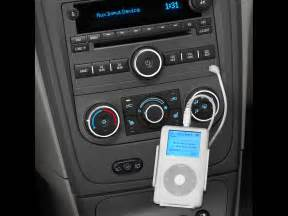 2007 chevy hhr panel auxiliary audio input for ipod