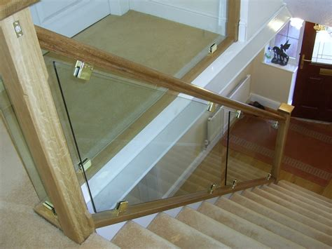 Install Banister Bolton Glass Staircases Bolton Glass Stair Panels