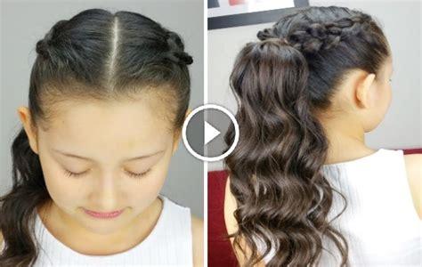 imagenes de peinados para nias 2016 peinados de ni 241 a 2016