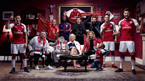 Arsenal Home Season premier league kits utd arsenal all the new