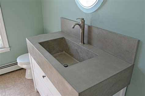 cement bathroom sink concrete bathroom sinks nj unique concrete